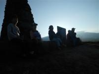 日の出ハイキング